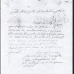 Carta M.J.Rabello a Enrique Villagrasa.