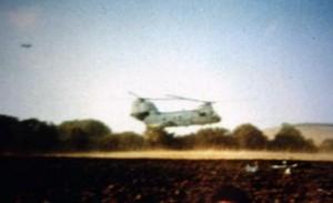 Fotos del objeto estrellado en Barbate y las tropas de Rota recogiendo los restos (1)B