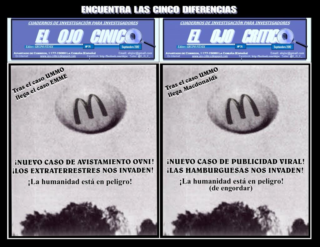 ENCUENTRA LAS CINCO DIFERENCIAS