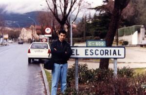 Moisés Garrido en El Escorial