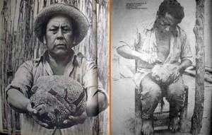 2) En 1975 la prensa peruana publicó estas fotos de Basilio Uchucya