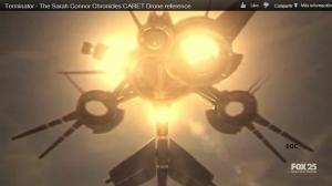 drones que aparecen en Las Crónicas de sarah connors