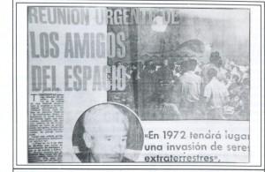 Las reuniones de BURU en lLa Ballena Alegre eran seguidas por la prensa de la epoca
