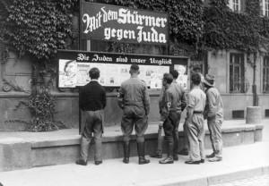 """Worms, Antisemitische Presse, """"Stürmerkasten"""""""