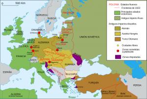 Cambios territoriales Tratado de Versalles (2)
