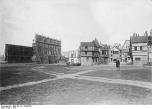 Berlin, Aufnahmegelände der Ufa in Tempelhof