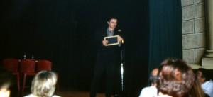 Carballal actuando en la Sala Houdini - copia