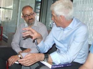 Jacques Vallée y José Juan Montejo, experto en Ummo - copia