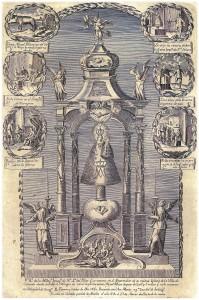 18 litografia milagro cojo Calanda viuda de Verdomy