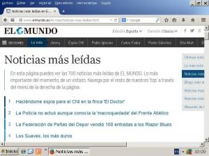 José 3. El reportaje del autor para el suplemento Crónica de El Mundo, llegó a ser lo más leído en la web del diario