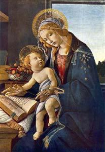 Botticelli_Madonna_Libro