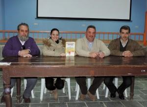 Presentación de Más Allá de las columnas de Hércules en Sotiel Coronada, Huelva
