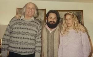 Jacobo Grinberg con Salvador Freixedo y Magdalena del Amo - copia