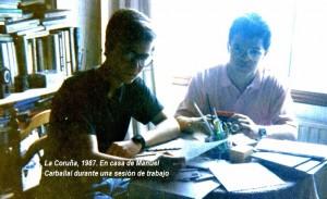 1987 Javier Sierra y Manuel Carballal LA CORUÑA2