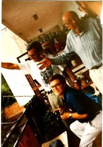 En casa de Antonio Ribera, en 1988 (1)