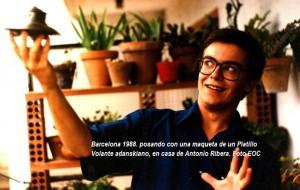 En casa de Antonio Ribera, en 1988 (2) - copia