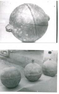 Fotos de las misteriosas esferas metalicas recuperadas en Lera del Rio, Sevilla, cuyo informe no se ha desclasificado oficialmente