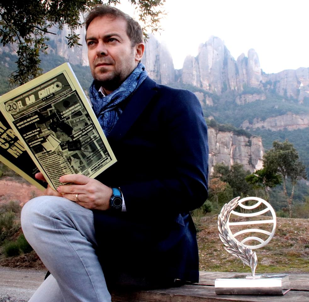Javier Sierra en Montserrat 1 - copia - copia