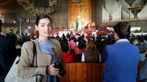 Lourdes en la basílica Virgen de Guadalupe México