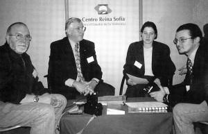 30. El autor con el Tte Cervero y el Coronel Robert Ressler