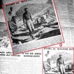 Reseña de prensa sobre las investigaciones de Williamson en Italia