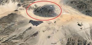 Localizamos el lugar exacto el supuesto primer encuentro de Adamski con Orthon en el programa Google Maps