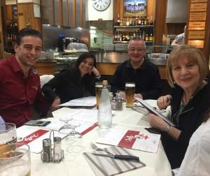 Con Mara Pallini y Paolo Presi