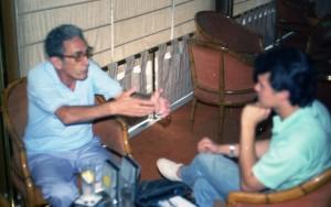 El autor con Eduardo Pons Prades, uno de los abducidos españoles más famosos (2)